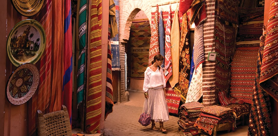 Know ahead of time what to pack to be comfy in Marrakech.