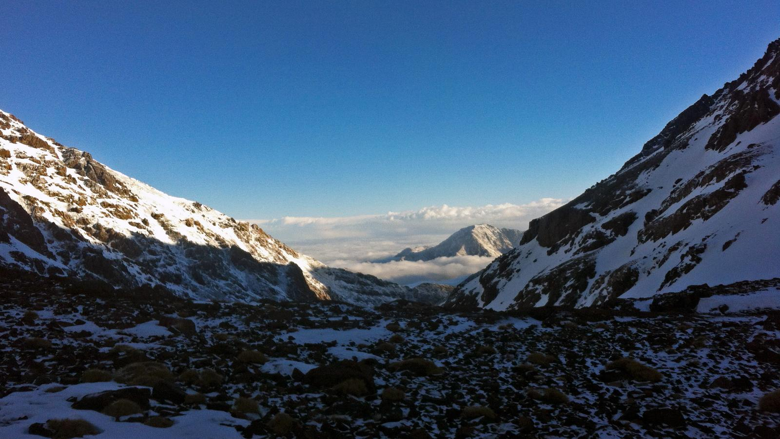 Mt. Toubkal - one of the most exhilarating experiences near Marrakesh.