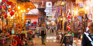 Haggling in a Marrakech souk is an art.