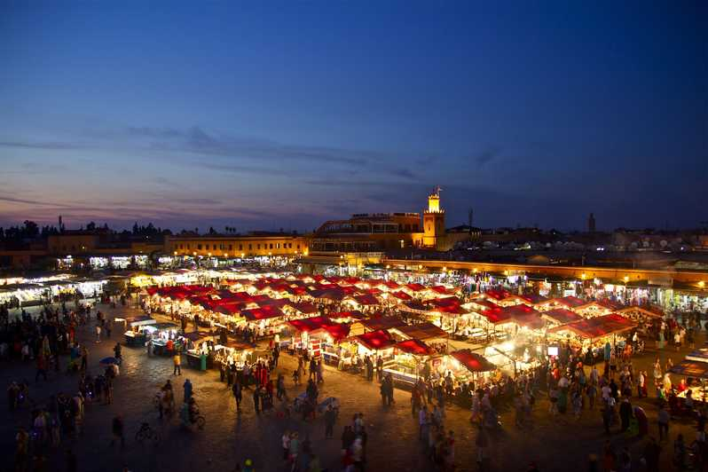 Marrakech is both ancient and modern.